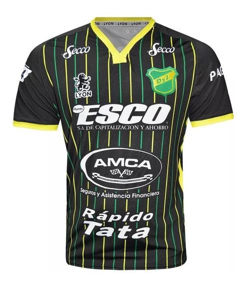 Camiseta Defensa Y Justicia Suplente Lyon 2020 + Numero Nomb