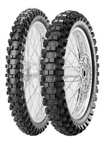 Kit Cubiertas 80 100 21 + 120 100 18 Mx Extra Pirelli