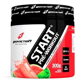 Start Pré Workout 300g - Body Action Original - Envio Em 24h