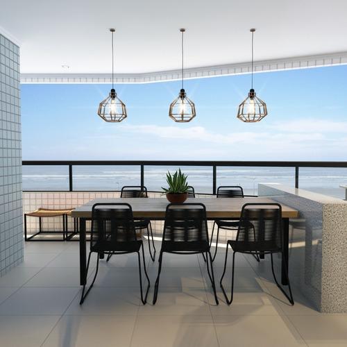 Imagem 1 de 14 de Apto 1quarto 1vg,sacada Gourmet,frente Mar,entrada 25mil