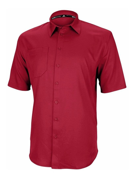 Polo adidas Climalite Two-a-day Para Caballero Color Rojo