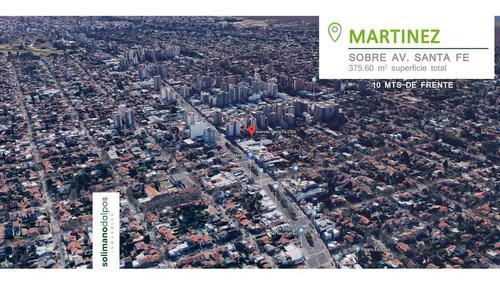Terreno En Venta - 375 M2 Totales - Martinez