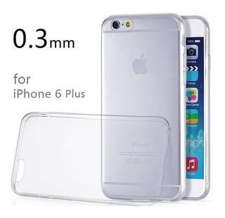 Capa Case iPhone 6s Plus Transparente Flexível