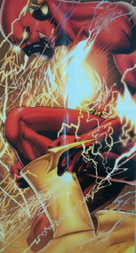 Poster Flash Ribirth Dc Comics Geoff Johns