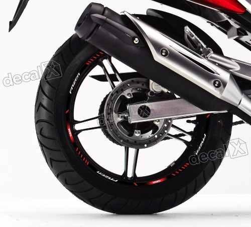Kit Adesivo Friso Refletivo Roda Moto Yamaha Fazer 250 Fri42
