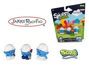 Os Smurfs Micro Vila, Gênio, Habilidoso E Robô Smurf - Sunny