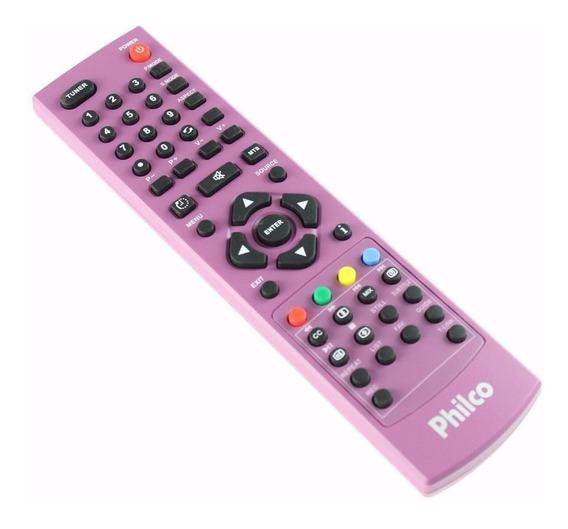 Controle Remoto Tv Philco Led/lcd Ph24mrleda2 Rosa Original