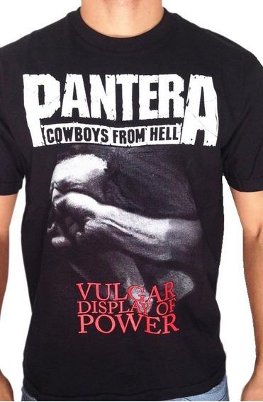 Camiseta Consulado Do Rock E773 Pantera Camisa Banda