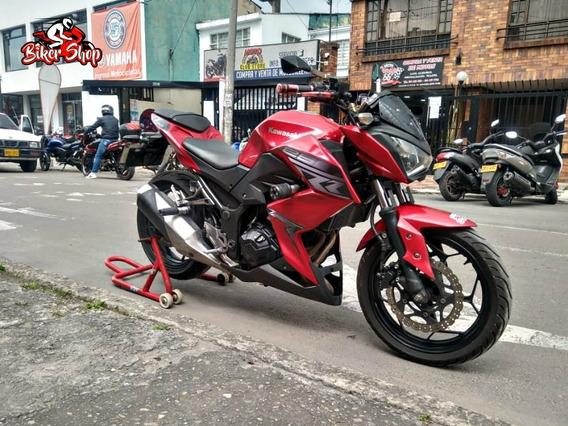 Solo En Biker Shop Kawasaki Z250 Modelo 2014, En Excelente