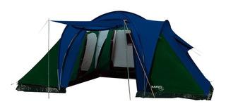 Carpa Iglu 6 Personas 3 Dormitorios Andina Nahuel Camping