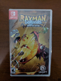 Rayman Legends Definitive Ed. Switch Midia Fisica Lacrado