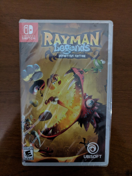 Rayman Legends Definitive Ed. Switch Midia Fisica Lacrado