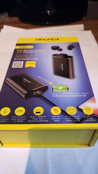 Fone De Ouvido Bluetooth Earbuds Awei T-85
