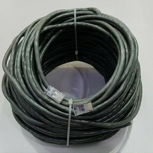 Cable Utp  Categoría 6 (40 Mts Con Terminales Rj45 )