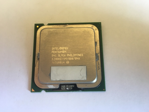 Processador Intel Pentium 4 541 Sl9c6 3.20ghz
