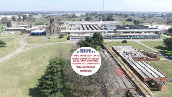 Deposito En Alquiler 540 M2 Rotonda Gutierrez - Ex Alpargatas - Berazategui Zona Sur