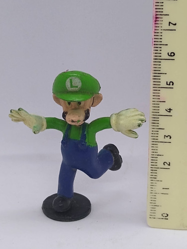 Imagen 1 de 5 de Nico Muñeco De Mario Bross Personaje Luiggi (pvz 22)