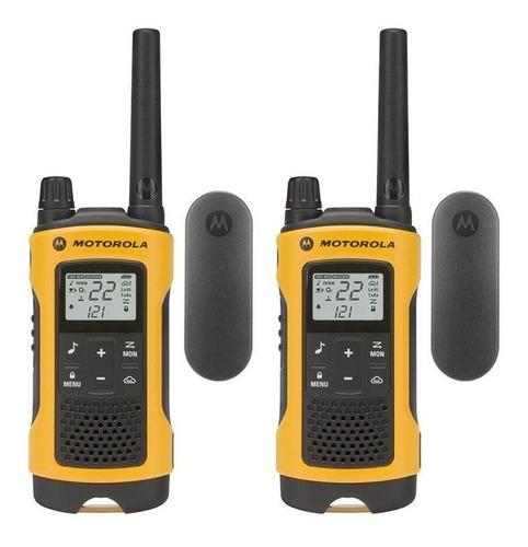 Imagen 1 de 7 de Radios Motorola T400 Impermeable 35millas-56kms Nvo Recargab