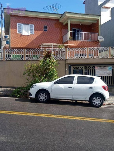 Sobrado Com 4 Dormitórios À Venda, 301 M² Por R$ 372.000,00 - Cidade São Jorge - Santo André/sp - So0166