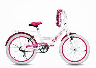Bicicleta Top Mega Cross Princess Rodado 20 Nena Niña Niños