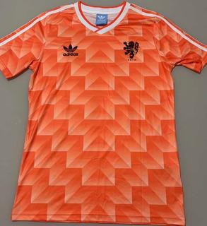 Camisa Holanda Euro 1988 Van Basten 12