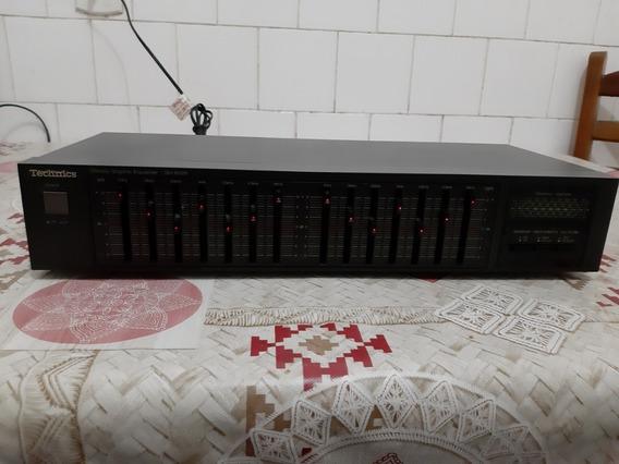 Equalizador Technics Sh-8028 - Ótimo Estado - 2 Detalhes
