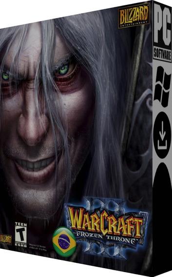 Warcraft 3 + Frozen Throne Br - Pc - Digital