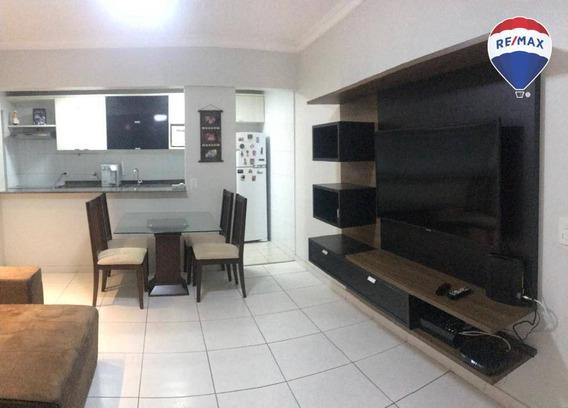Apartamento Com 2 Dormitórios Mistral Residence, 69 M² - Batista Campos - Belém/pa - Ap0522