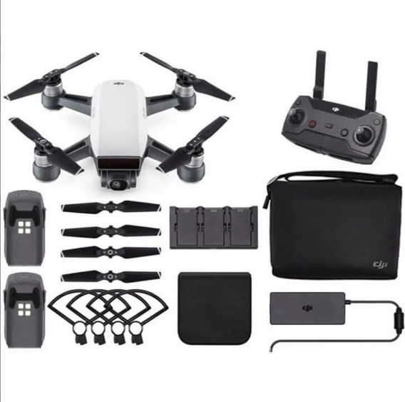 Drone Dji Spark Combo Fly More Anatel Br