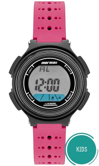 Relógio Mormaii Infantil Wave Mo0974b/8q Rosa Digital