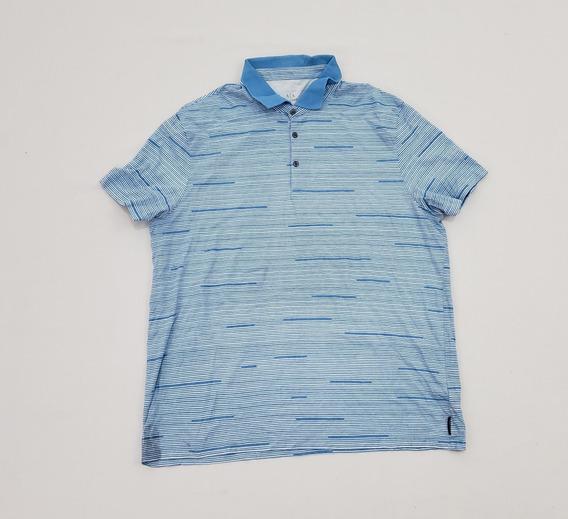 Playera Polo Armani Exchange 2xl Azul