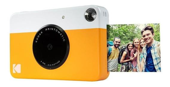 Câmera Digital Com Impressão Instantânea Foco 2.2 5mp Kodak