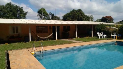 Chácara Com 3 Dormitórios À Venda, 1800 M² Por R$ 960.000,00 - Loteamento Chácaras Vale Das Garças - Campinas/sp - Ch0340
