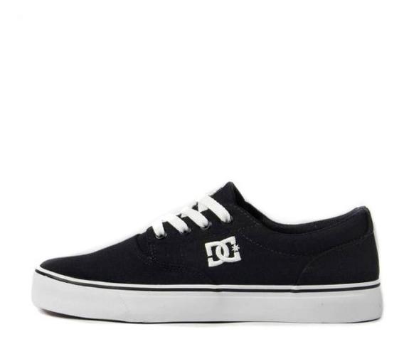 Tênis Masculino Dc Shoes New Flash 2 Tx Black/white Original