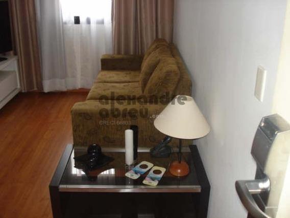 Flat Com 1 Dormitório Em Moema - 410