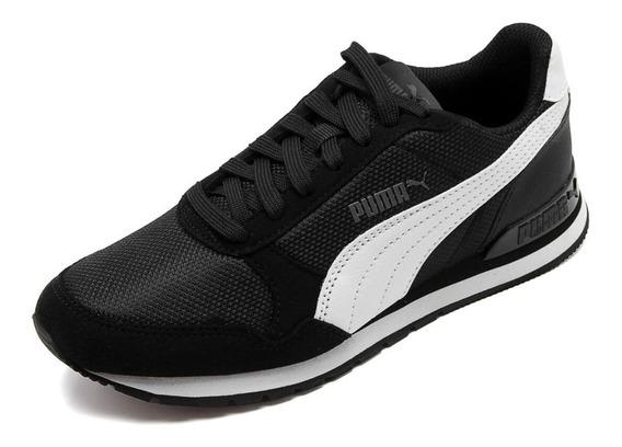 Tênis Puma Masculino Runner Mesh Preto 3668