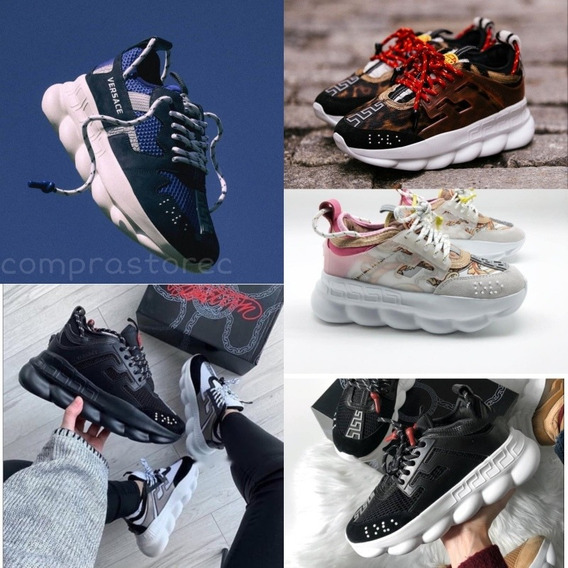 *+* Zapatos Versace Chain Reaction *+*