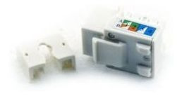 Electric Line Jack Rj45 Incrustar Categoria 6 Blanco Th908ex