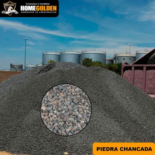 Imagen 1 de 1 de Piedra Chancada Arena Gruesa Saco De 40kg