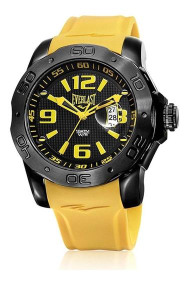 Relógio Pulso Everlast Esportivo Aço Masculino E563