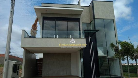 Casa À Venda, 300 M² Por R$ 1.300.000,00 - Condomínio Ibiti Reserva - Sorocaba/sp - Ca0810