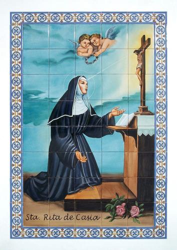 Imagen 1 de 10 de Imágenes Religiosas. Mayólicas. 1,05 X 0,75m (mre35)
