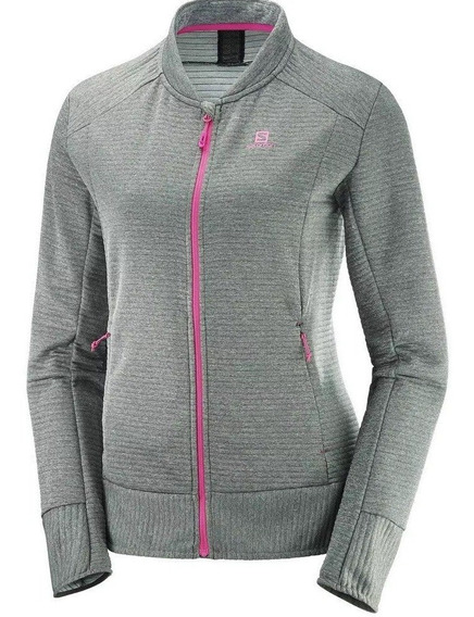 Salomon Campera Mujer Right Nice Gris / Rosa