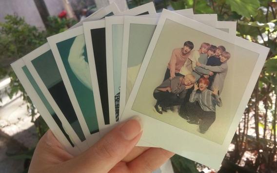 Bts Kpop Polaroid Kit Personlizado Escolha Sua Imagem
