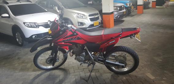 Honda Xr 250 Roja