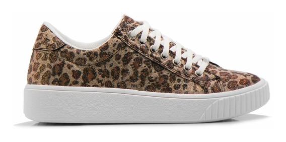 Zapatillas Mujer Animal Print Sneakers Urbanas Savage