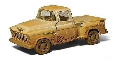 Miniatura Carro Pick-up Chevy Stepside 1955 Kinsmart 1:32