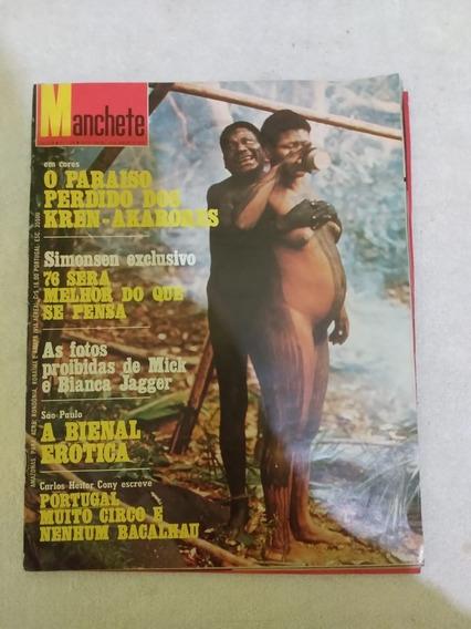 Revista Manchete N 1238 De Janeiro De 1976.