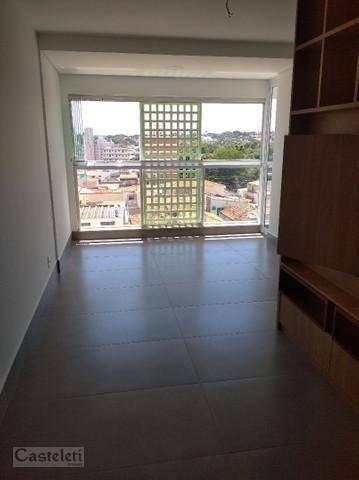 Imagem 1 de 6 de Apartamento Com 1 Dormitório Para Alugar, 43 M² Por R$ 2.600,00/mês - Bosque - Campinas/sp - Ap7660