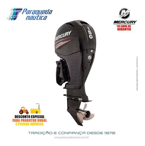 Motor De Popa Mercury 4 Tempos 150hp Xl 3.0l Efi